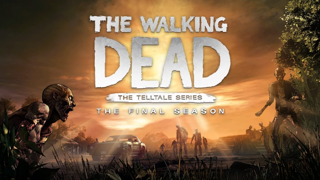 The Walking Dead The Final Season - Start screen