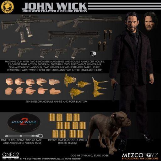Mezco John Wick 4