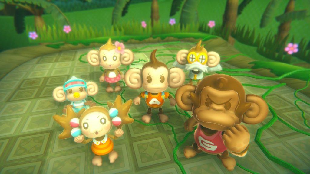 Super Monkey Ball: Banana Blitz HD - family