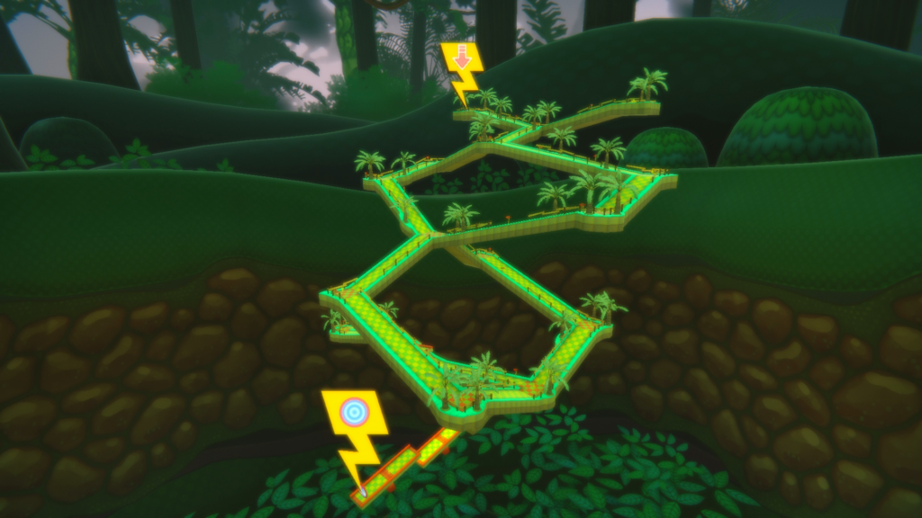 Super Monkey Ball: Banana Blitz HD - vine level
