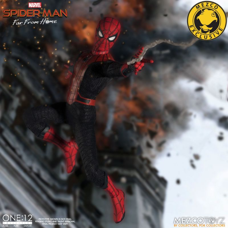 Mezco One12 Spider Man FFH 3