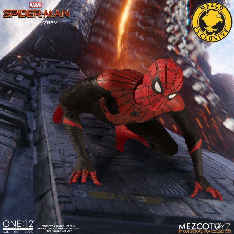 Mezco One12 Spider Man FFH 6