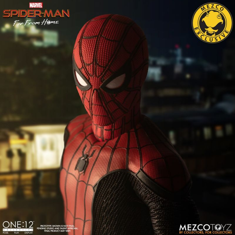 Mezco One12 Spider Man FFH 8