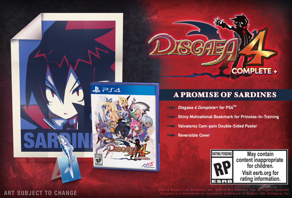 Disgaea 4 Complete+ - PS4 cover