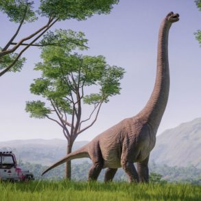 Jurassic World Evolution - Brachiosaurus