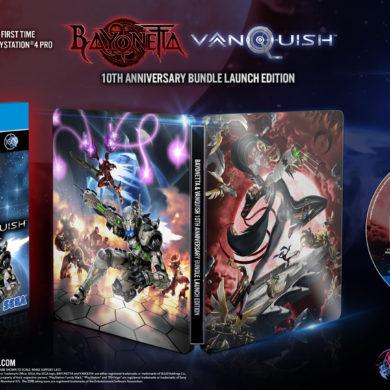 Bayonetta & Vanquish 10th Anniversary Bundle - cover