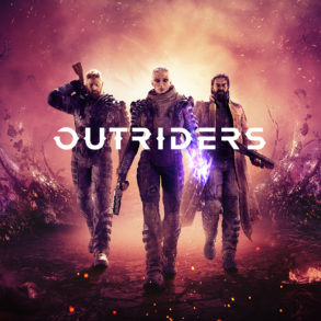 Outriders - key art