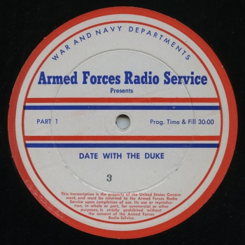 The Armed Forces Radio Service helped preserve these rare broadcasts for us to enjoy today.