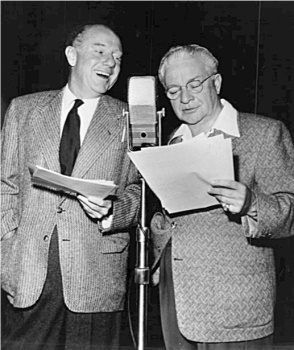 "By 1951, when this CBS photo was taken, ""Amos 'n' Andy"" was a radio institution that would ultimately run, in various formats, for over thirty years."