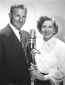 "Willson spent three happy years as the musical director for ""Maxwell House Coffee Time"" starring George Burms and Gracie Allen."
