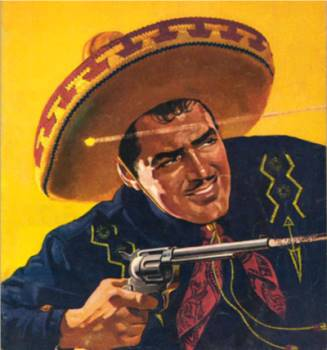 In the minds of listeners, the Cisco Kid probably looked something like this...