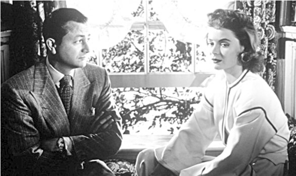 "In ""Claudia and David"" (1946), Robert Young and Dorothy McGuire played the Naughton's in a sequel to their 1943 20th Century Fox success ""Claudia."""