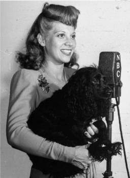 A solider wants to hear his dog Queenie bark on the air? Dinah Shore does her best to oblige!