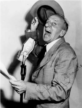 The irrepressable Jimmy Durante