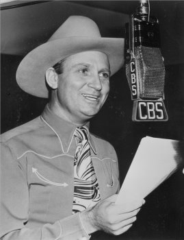 Image result for gene autry in the recording studio in 1939