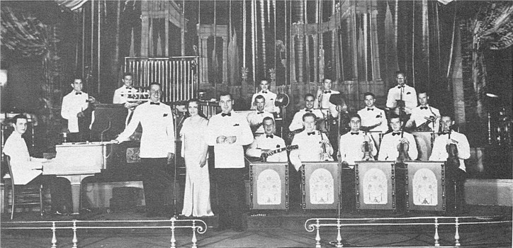 Jimmie Grier and his Orchestra at the Biltmore Bowl, 1932.