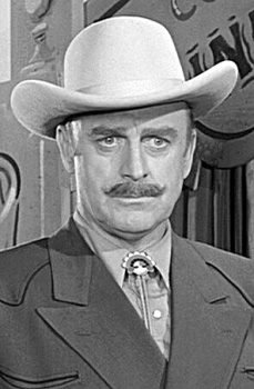 "John Dehner stars as Paladin in ""Have Gun, Will Travel"""