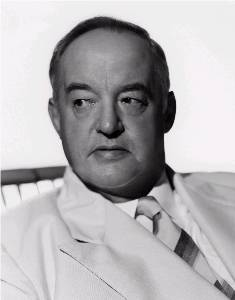 Actor Sydney Greenstreet certainly looked the part, and author Rex Stout approved of his portrayal of Nero Wolfe.