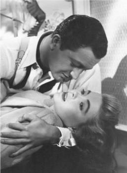 "Robert Young and Dorothy McGuire in ""Claudia"" (1941)"