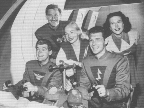 "The cast of ""Space Patrol"" heads off for another interplanetary mission."