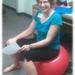 Kathy van zelfden  exercise ball