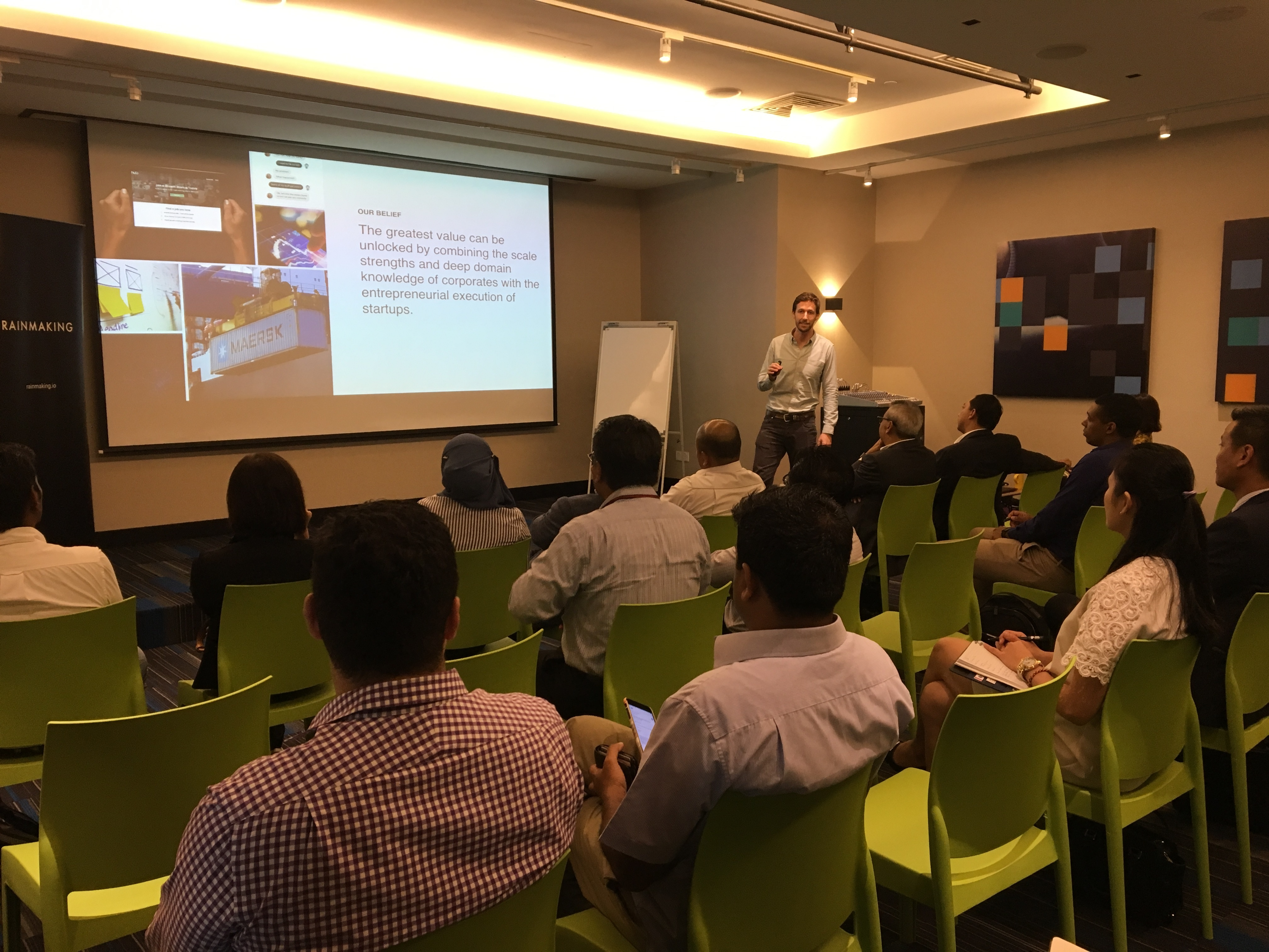 Rainmaking KL: Corporate Innovation Lunch (DTAP Special)