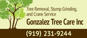 Website for Gonzalez Tree Care Inc.