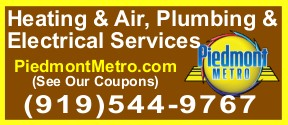 Website for Piedmont Metro Heating & Air Conditioning