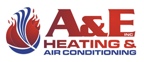 Website for A & E Heating & Air Conditioning, Inc.