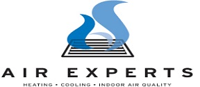 Website for Air Experts Heating, Cooling, Inc