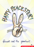 Happy Peacester cartoon eCard