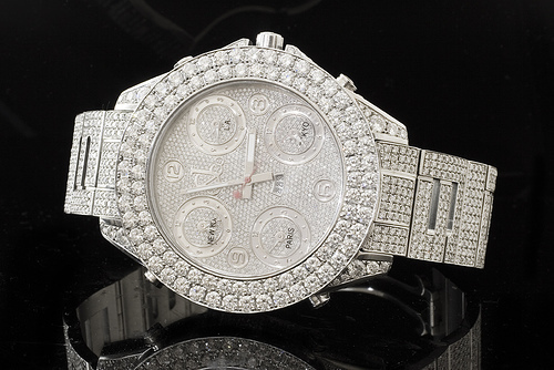 Watchco exclusive bertucci para cord titanium watch blog for Watches rappers wear