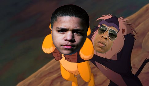 Jay-Z as Rafiki