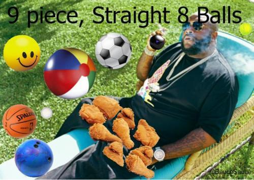 Rick Ross 9 Piece