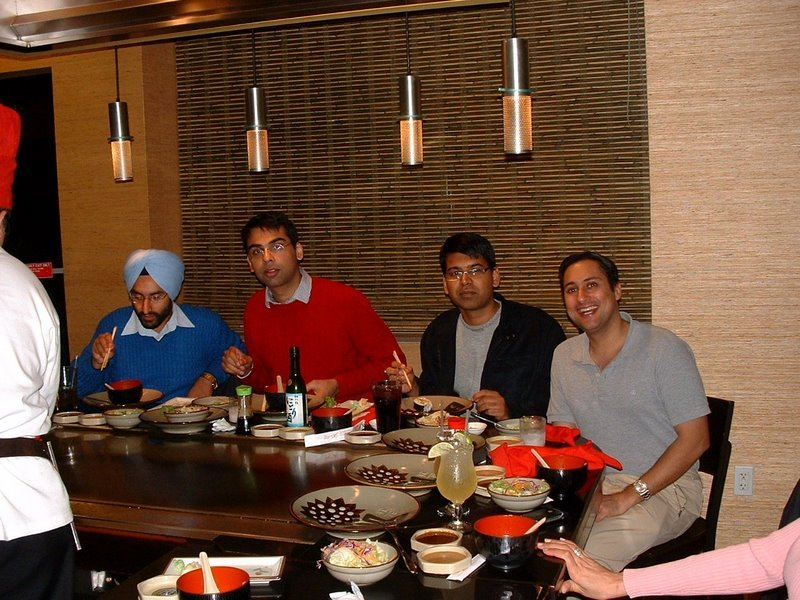 Benihana Terrorism Meeting