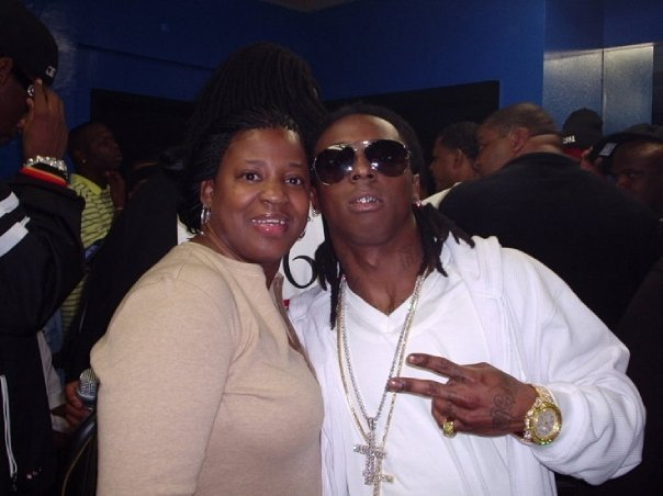 Inhale the ethe... Lil Waynes Mom