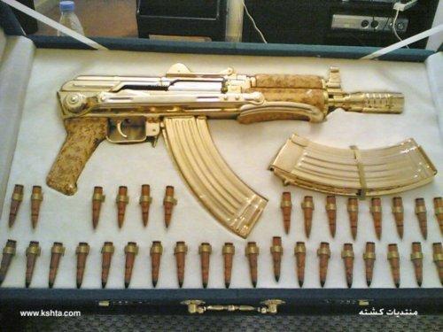 Gold Choppa A firearm that is