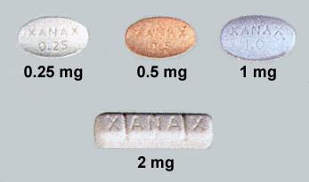 Generic Xanax Pill Description