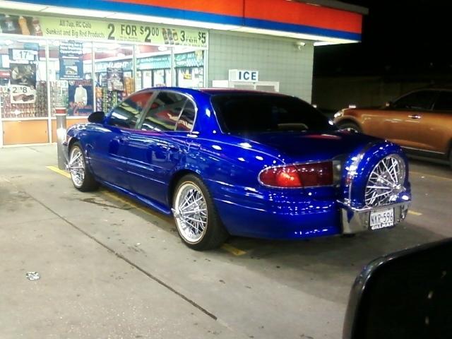 Candy Blue Z Car Paint