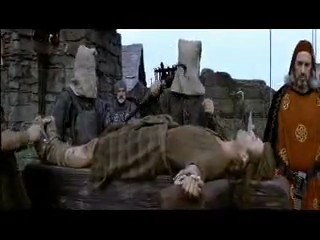 The drawing and quarter scene in Braveheart