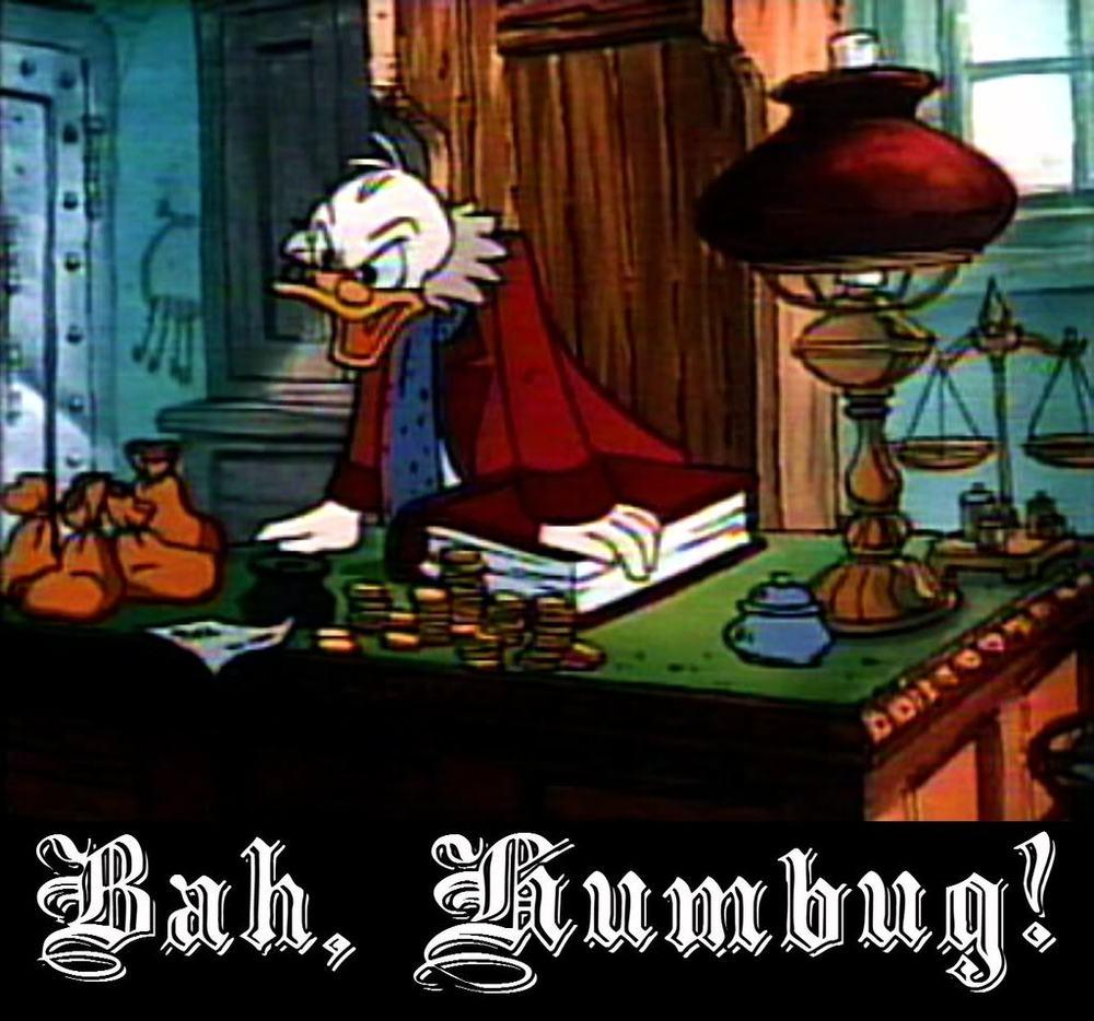 """Bah, humbug"" no, that's too strong – Christmas Wrapping"