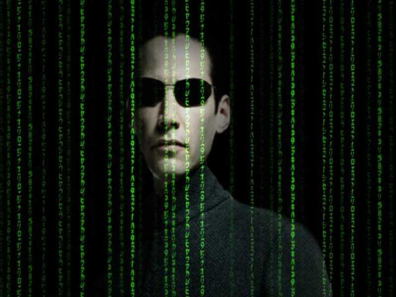 on the matrix / index
