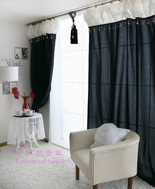 In The White Room With Black Curtains White Room By Cream