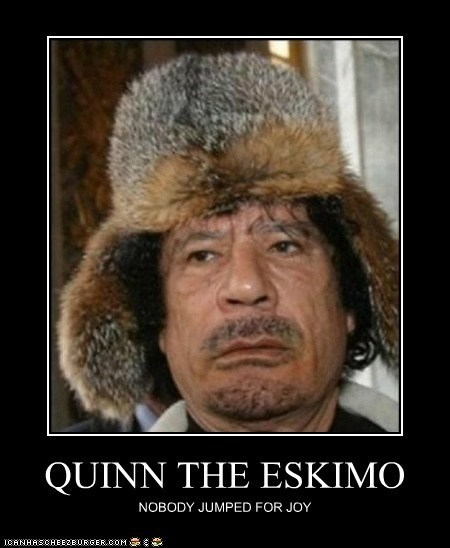 Lyrics to quinn the eskimo