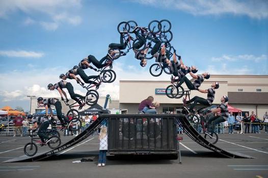 Bike Tricks Bmx bike tricks BMX bikers do