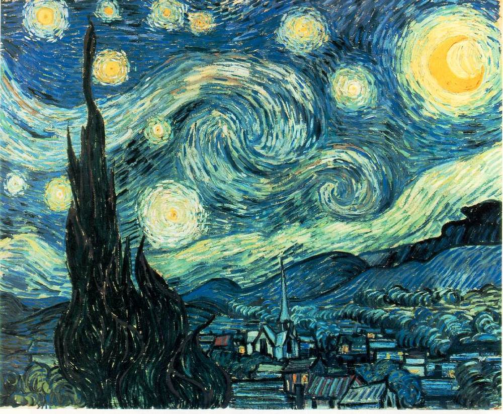 Starry Starry Night on Making Art With Kids Oil Pastels That Pop