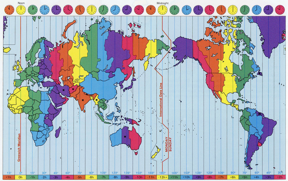 What Time Is It Lyrics - Japan map time zones