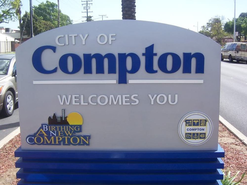 (Compton) Yeah, that's the name of the hometown – Born and ...