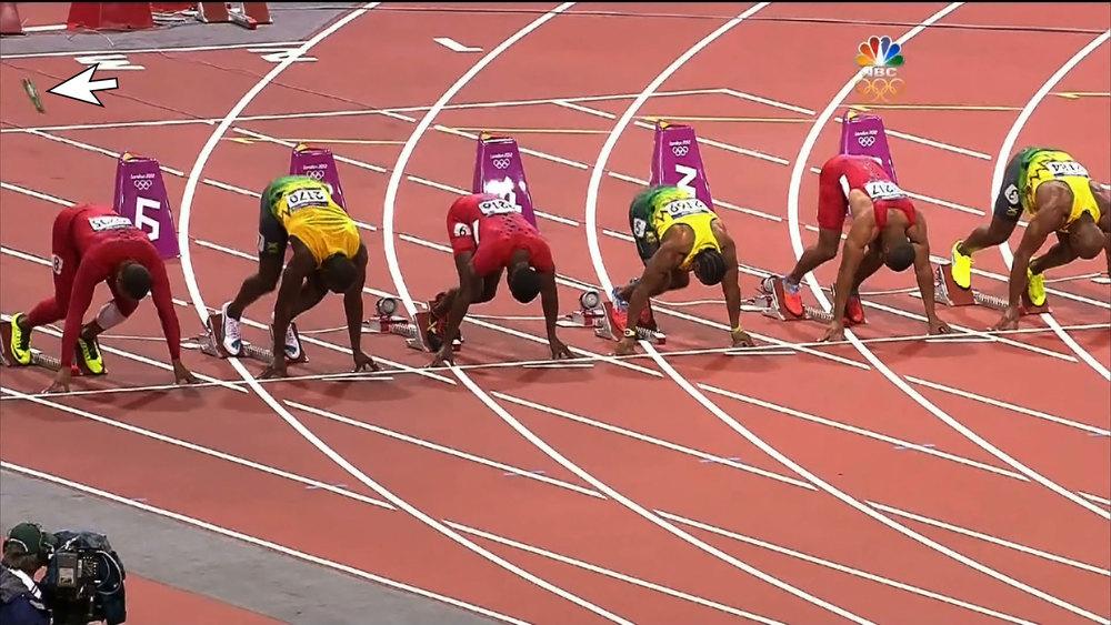 how to start run 100m