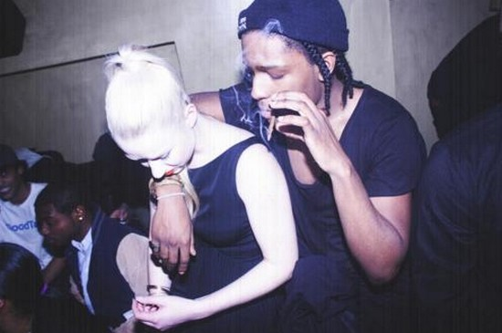 Does a ap rocky dating iggy azalea